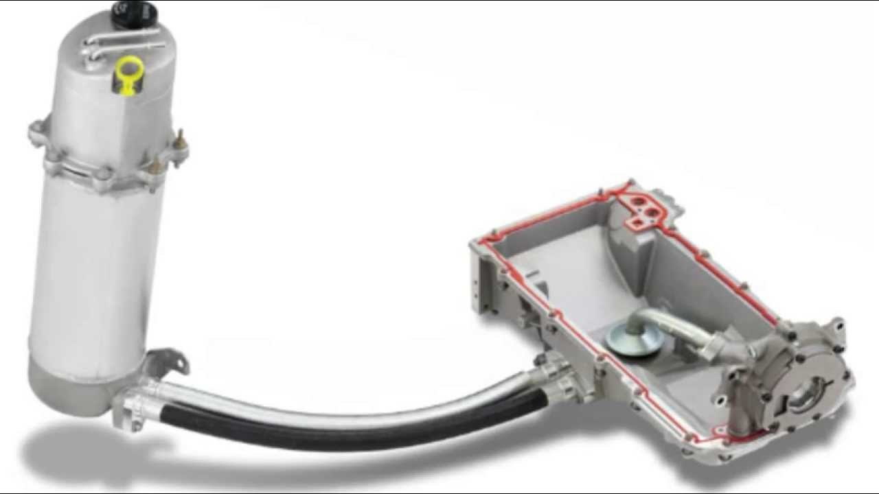 What is a dry sump system? How this cooling system works and what are advantagesdisadvantages