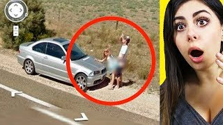 Weirdest Photos Caught on Google Maps !