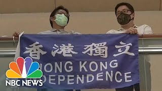 Protests Break Out After China Approves Controversial Security Law | NBC News NOW