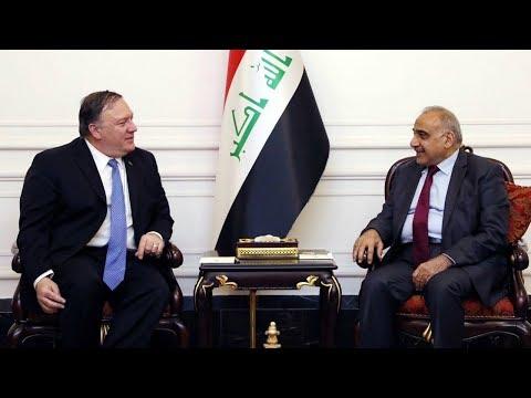 واشنطن تطلب من العاملين غير الأساسيين في السفارة الأمريكية في بغداد وأربيل المغادرة  - 16:55-2019 / 5 / 15