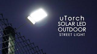 Güneş Enerjili Sokak,Bahçe Lambası İnceleme - uTorch 42 LED'li & Çin'den