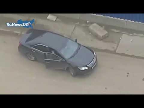 """Перестрелка у ЖК """"Ясный"""" в Москве / RuNews24"""