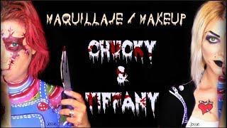 MAQUILLAJE CHUCKY & TIFFANY 2 EN 1TUTORIAL HALLOWEEN - Jossie