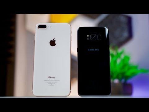 IPhone 8 Plus Vs Samsung Galaxy S8 Camera Comparison