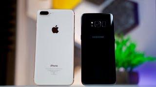 iPhone 8 Plus vs Samsung Galaxy S8 Camera Comparison