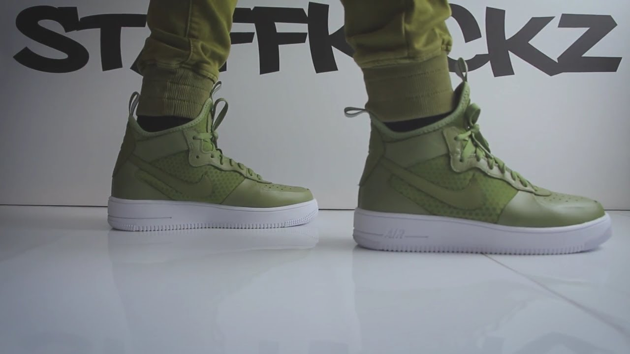 Nike Air Force 1 Ultraforce Mid Unboxing & On Feet
