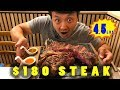 Eating ENTIRE Huge FLORENTINE STEAK in Florence Italy