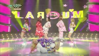 [HIT] 뮤직뱅크 - 라붐(LABOUM) - Sugar Sugar.20150327