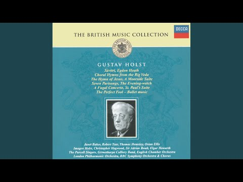 Holst: Seven Part Songs - Angel Spirits Of Sleep