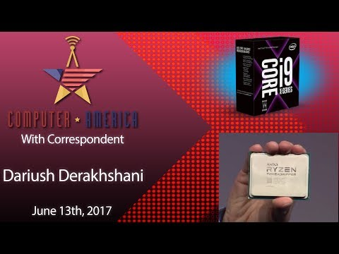 Dariush Derakhshani, Computer Graphics Expert, Talks Threadripper/i9