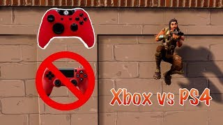 Trying Fortnite on Xbox! (Is it harder than PS4?)