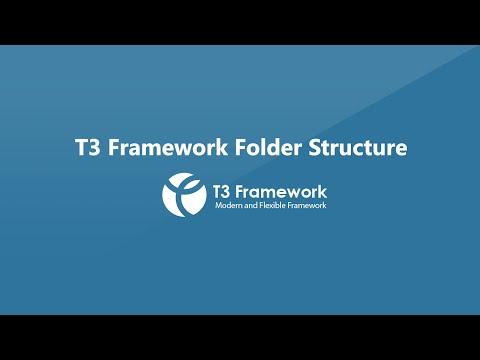 T3 Framework Video Tutorials - Folder Structure