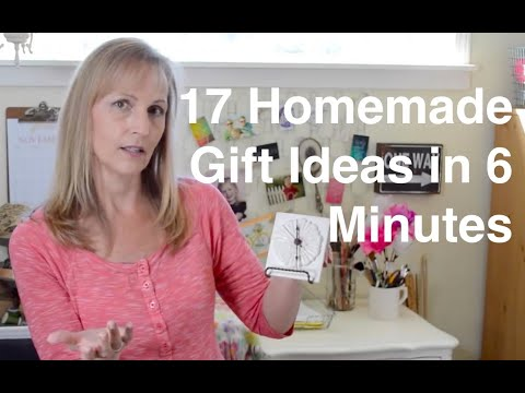17 Homemade Gift Ideas In 6 Minutes - AnOregonCottage.com