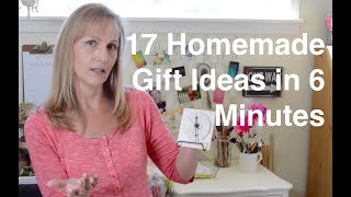 17 Homemade Gift Ideas In 6 Minutes   Anoregoncottage.com
