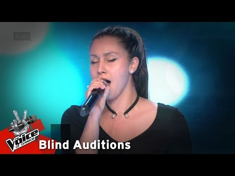 Αλεξάνδρα Μισού - Memory | 11o Blind Audition | The Voice of Greece