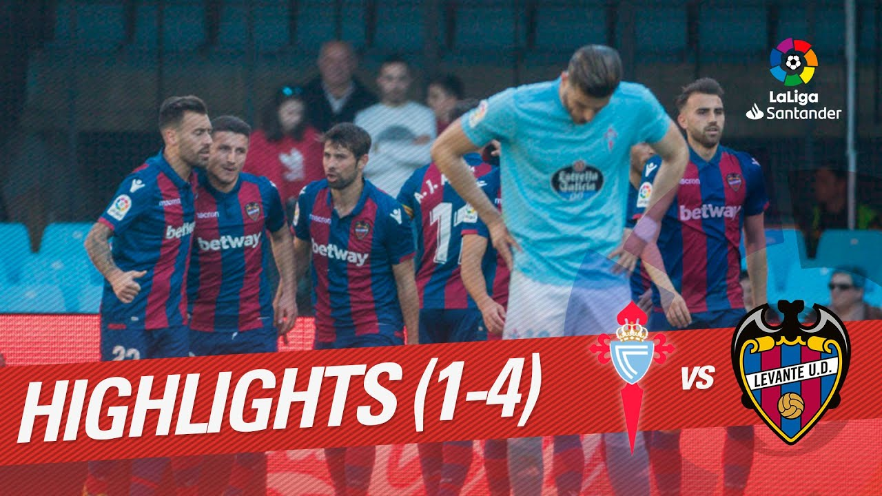 Highlights RC Celta vs Levante UD (1-4)
