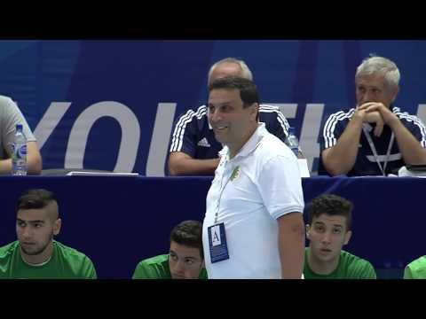 WCH U19  PRELIMINARY ROUND  RUSSIA vs. ALGERIA