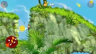 Rayman Jungle Run Windows 8 Windows 8.1 Windows RT gameplay Jump World levels 1-1 to 1-9
