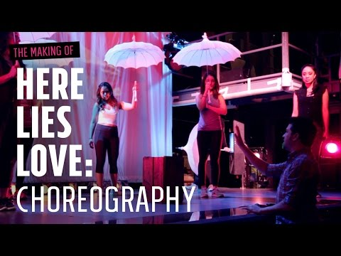 The Making Of Here Lies Love: Choreography