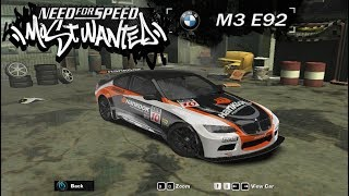Unlocking and Wining M3 E92 Need for Speed: Most Wanted