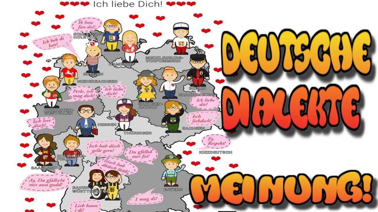 Dialekte deutsche Sprache regionale Unterschiede | Meinung