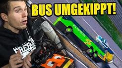 HILFE, MEIN BUS IST UMGEKIPPT! ✪ FERNBUS SIMULATOR mit LENKRAD