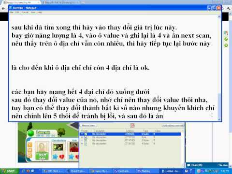 Huong Dan Cheat Hang Hoa Happy City Zing ME-clip2