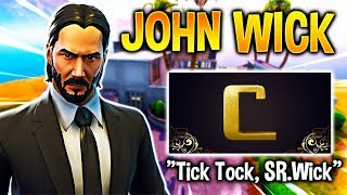 EXCLUSIVE SKIN JOHN WICK WITH FASES AND NEW BAILES! FIRST TEASER FORTNITE X JOHN WICK