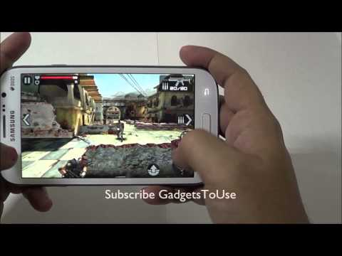 Samsung Galaxy Grand Game Performance Review - High Graphics Games Load Time and Playback