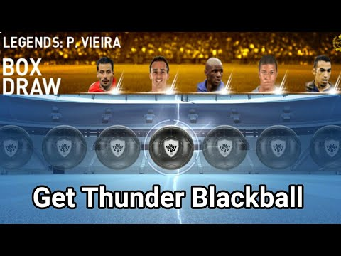 Repeat THUNDER Black Ball Trick in LEGENDS: Worldwide Box