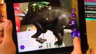 Живая Раскраска Тайны Динозавров