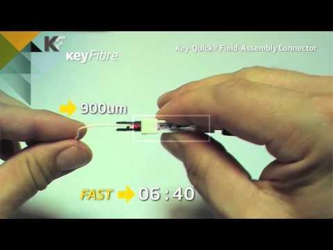 Conector de ensamblaje rápido SC UPC & SC APC KeyQuick®