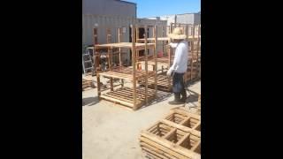T&r Lumber Co. Shipping Rack