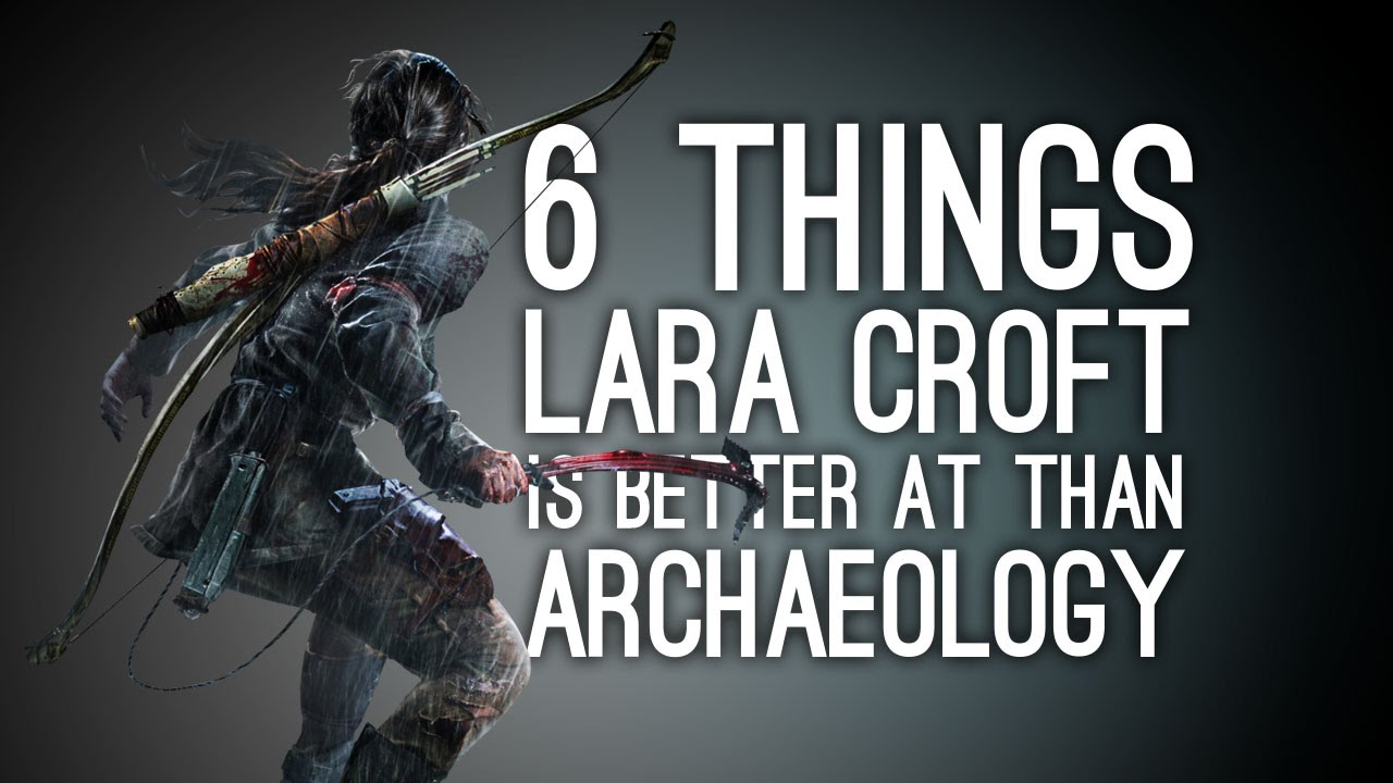 6 Things Lara Croft Is Better At Than Archaeology In Rise Of The Tomb Raider Gameplay