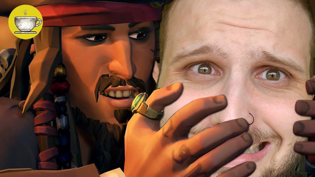 As Piranhas do Caribe voltaram! - Sea of Thieves Piratas do Caribe!