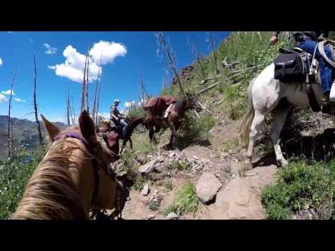 Flat Tops Wilderness Packtrip Day 1, 2016