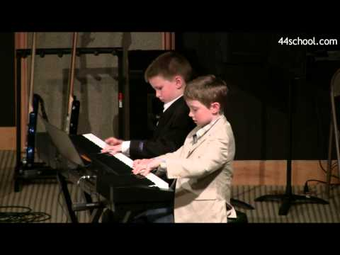 Truman K and Forest W   44 School of Music  Seattle Concert  Spring 2014  Piano Lessons