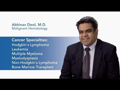 Meet Dr. Abhinav Deol - Malignant Hematology | Karmanos Cancer Institute video thumbnail