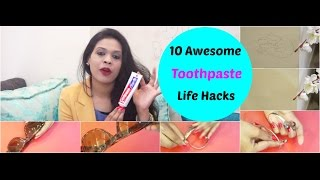 10 Awesome Toothpaste Life Hacks |  Clean your house with Tooothpaste | organizopedia