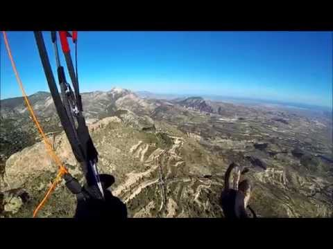 "Paragliding in Alicante, March 2015 ""Palomaret"" with DOYOUWANNA"