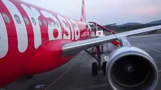 Flight Review AirAsia Flight AK733 Singapore to Langkawi Island Malaysia A320-200