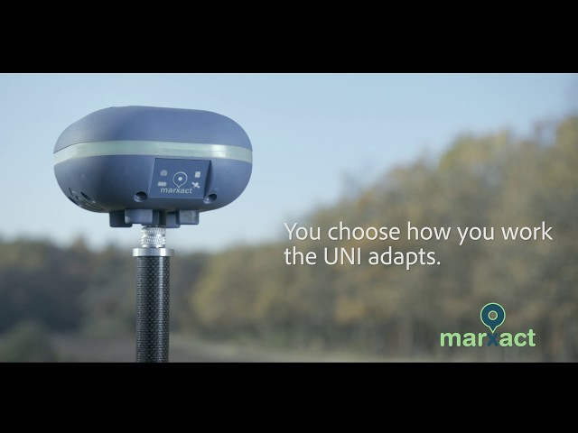 UNI-GR1 -You choose how you work, the UNI adapts- Affordable CM accurate Universal RTK GNSS Receiver