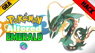 Pokemon GBA ROM hack altered emerald [Gameplay&Download]