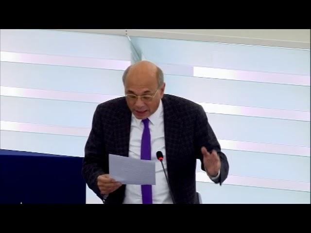 Jean-Luc Schaffhauser sur l'accord d'association de l'UE avec la Géorgie et la Moldavie