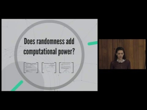 Randomised Computation