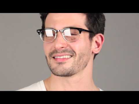 Ray-Ban RX5154 Clubmaster 2000 -  Ray-Ban Glasses Review - VisionDirectAU