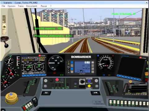 Simulatore Treno 5 01 Paolo Sbaccheri E464 Ultima Parte