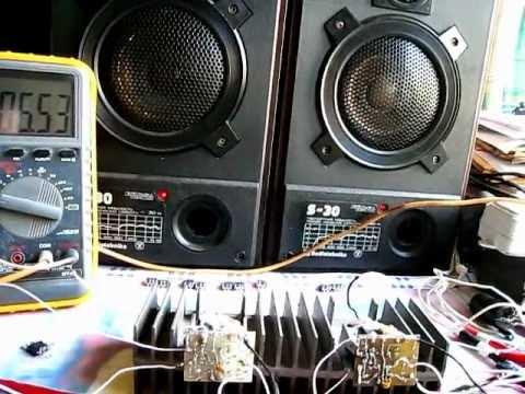 Amplifier Сlass AB: LM1875 vs
