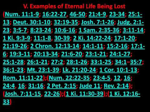 The truth about eternal security Part 3   03-13-2009.mpeg