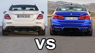 2018 BMW M5 Vs 2018 Mercedes-AMG E63 S